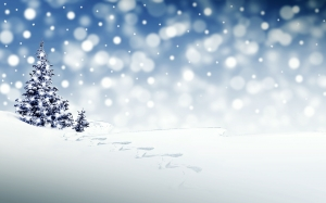 christmas, xmas, new year, snow, winter, christmas time, snowfall, christmas greeting, december, white, blue, landscape, christmas background