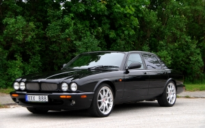 jaguar xjr 100, jaguar, car, automobile, auto, vehicle, black