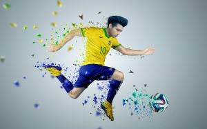ball, soccer, player, football, sports, football player, jumping, extreme sport, competition, team sport, graphics