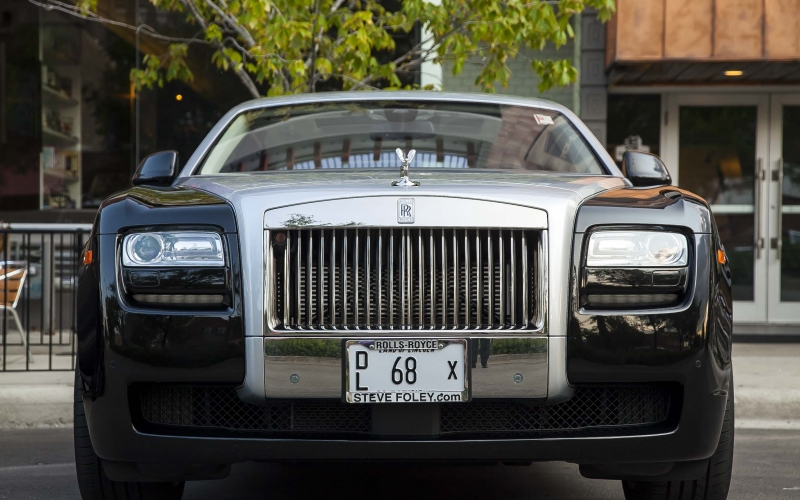car, automobile, transportation, vehicle, bumper, rolls royce, super car, luxury, sedan, vehicle registration plate