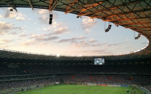 game, soccer, football, stadium, field, arena, match, atmosphere, sport, venue soccer, audience