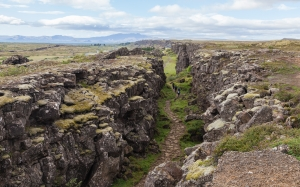 icelandic, law rock, national park, iceland, rocks, nature, landscape, north, road, path