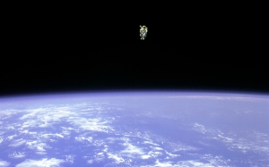 astronaut, space, nasa, earth, space shuttle, challenger, bruce mccandless II