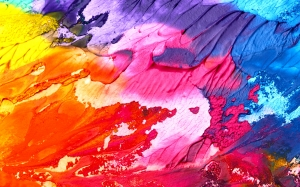 abstract, art, background, paint, texture, colorful, colors, watercolor, design, canvas, blot