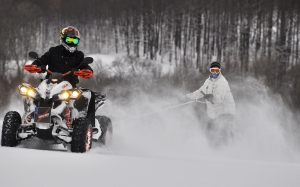 atv, quad, schnee, winter, rodeln, snowboard, snow, snowmobile, vehicle, freezing, winter sport, racing, extreme sport, car, motorcycle