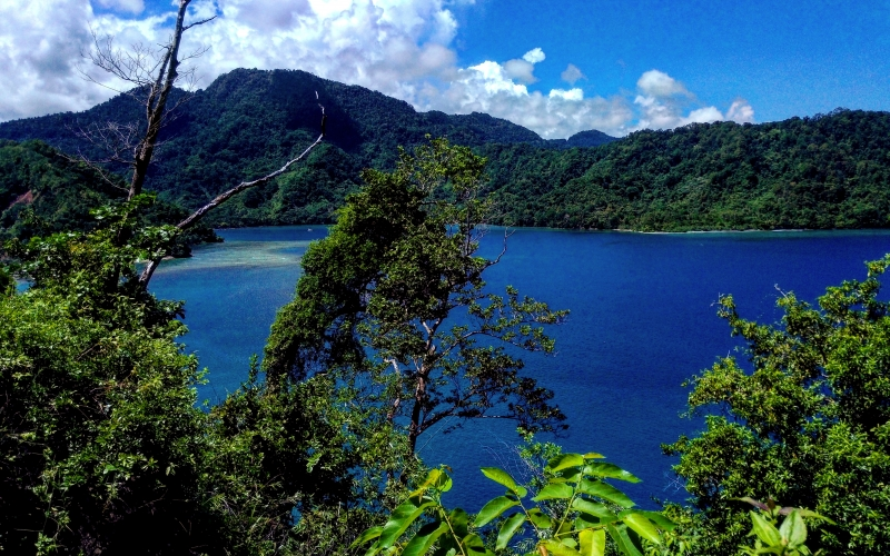 sea, nature, landscape, sky, mountain, wilderness, highland, rain forest, jungle, vacation, tropical, lagoon, bay, coast