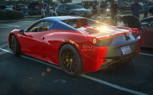 auto, automobile, fast car, ferrari, ferrari 458 spider, luxury car, sports car, vehicle, red car