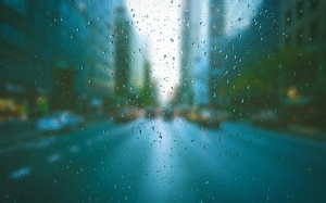blur, droplets, glass, rain, raindrops, water, waterdrops, wet, city, window