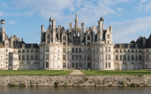 chateau, chambord, castle, landscape, architecture, france, building, french, historic, heritage, landmark, valley, palace, loire, luxury, panorama, europe, landscape, building, castle