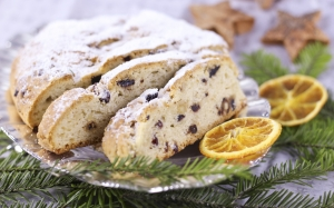 xmas, new year, christmas stollen, christmas sweets, fruitcake, tunnel, pastries, christmas baking, cake, bake, christmas, sweet, eat, nuts, advent, oranges, christmas time, fruity, tea party