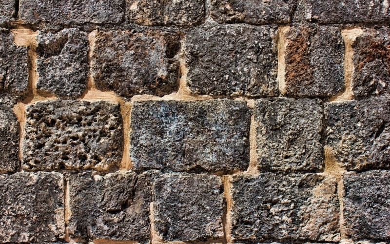 rock, texture, building, cobblestone, wall, stone, brick, material, block, rubble, ruins, brickwork, ancient, history
