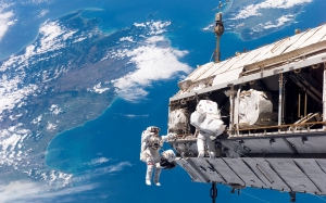 space walk, astronauts, nasa, aerospace, outer space, earth, iss, international space station, blue earth, space, technology